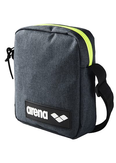 ARENA TEAM CROSSBODY BAG ŠEDÝ MELÍR