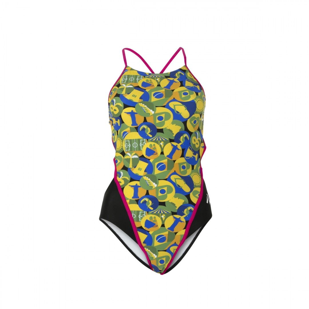 Michael Phelps Aqua Sphere plavky CARIMBO OPEN BACK