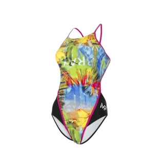 Michael Phelps Aqua Sphere plavky SELARON OPEN BACK